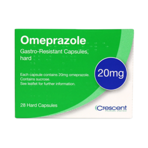 Omeprazole 20mg Gastro-Resistant Capsules