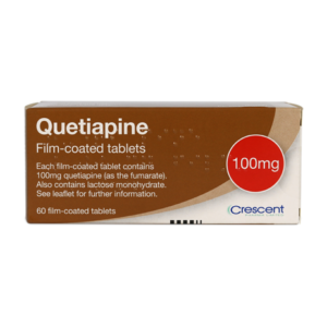 Quetiapine 100mg Film-coated Tablets
