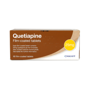 Quetiapine 25mg Film-coated Tablets