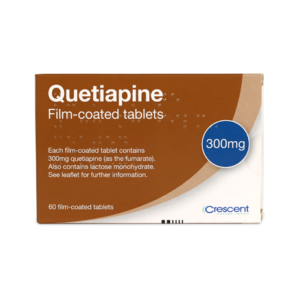 Quetiapine 300mg Film-coated Tablets