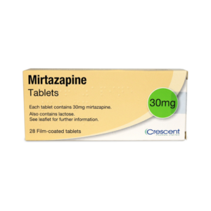 Mirtazapine 30mg Tablets